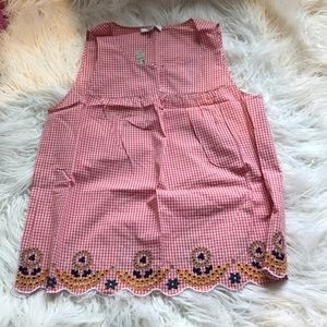 Embroided top